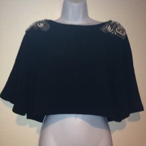 5 for $25 English Rose Black Top